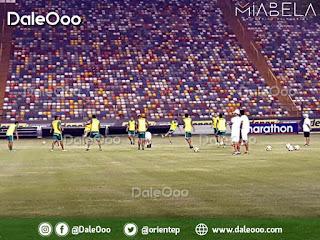 Oriente Petrolero reconoció el Estadio Monumental de Lima - Copa Conmebol Libertadores - DaleOoo