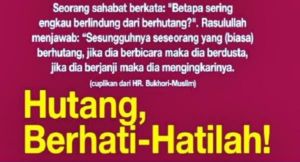 Ini Alasannya Rasulullah Selalu Berdoa Agar Terhindar Dari Hutang Maka Celakalah Mereka Yang ...