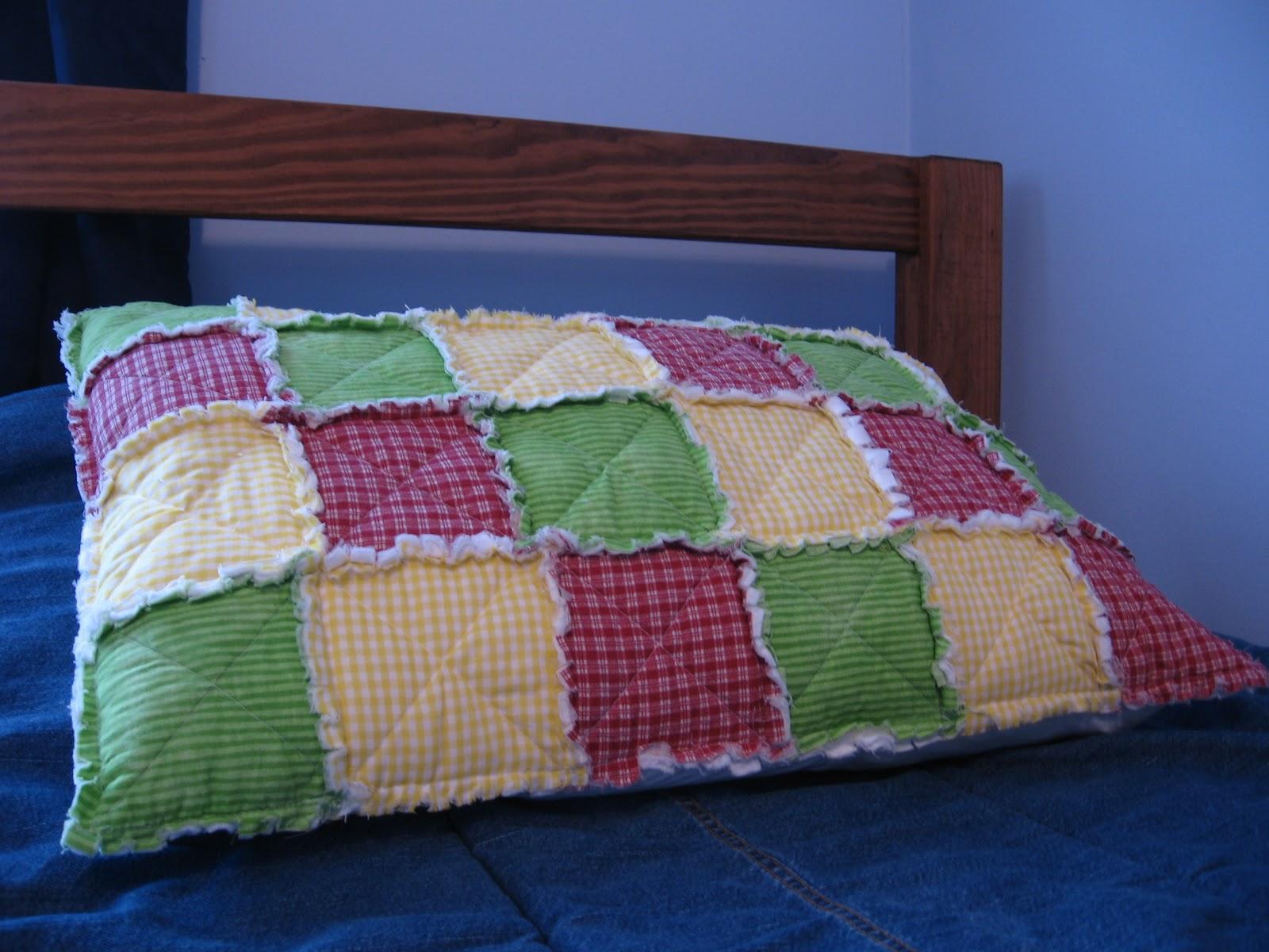Raising Creative Hearts Patchwork Pillow Sham Tutorial