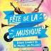 FÊTE DE LA MUSIQUE : LE 24 JUIN A SAINT-MARCEL!