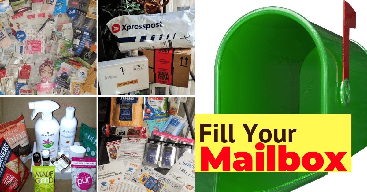 FREE Samples & Products in Canada- Angie's Canadian Mailbox