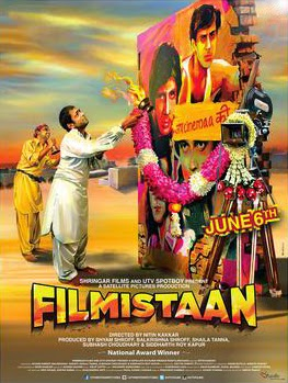 2014 Bollywood movie Filmistaan Poster