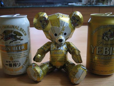 Cool Recycled Can Art