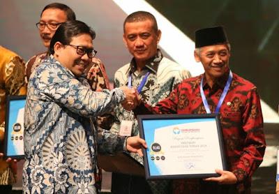 Pemkab Pringsewu Raih Penghargaan Predikat Kepatuhan Tinggi Dari Ombudsman RI