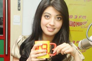 Sai Movie Actress Preneetha Pictures at Radio Mirchi