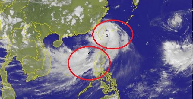 Topan Nisha dan Haitang Datang Berbarengan, Masyarakat Waspada 423 Lokasi Longsor dan Banjir