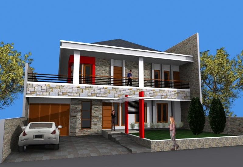 Desain Rumah Minimalis Modern 2 Lantai Type 60, 120, 36 ...