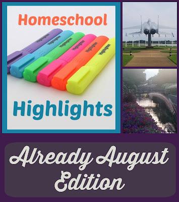 Homeschool Highlights - Already August Edition on Homeschool Coffee Break @ kympossibleblog.blogspot.com