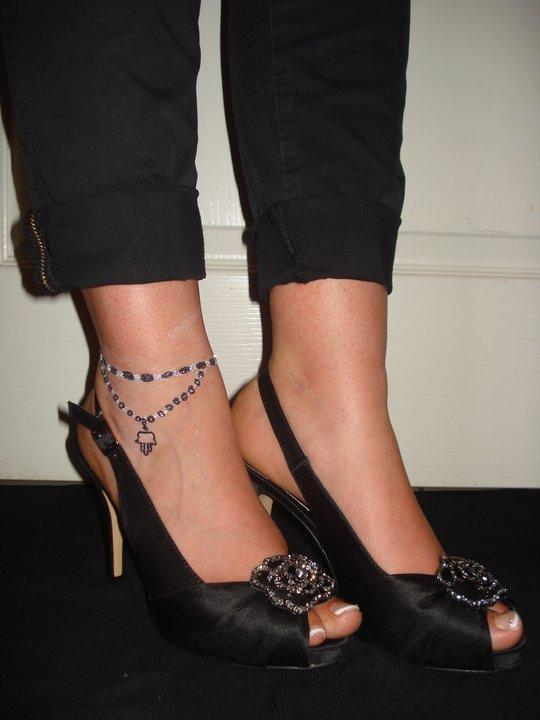 atelier polychroms: tatoo pieds et chevilles