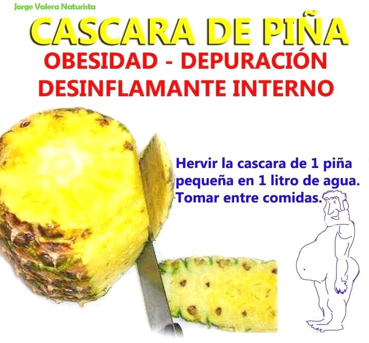 Depurar el Organismo con Cascara Anana-Piña