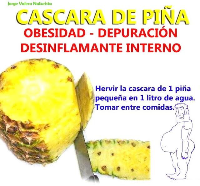 depurar, organismo, cuerpo, salud, ananas