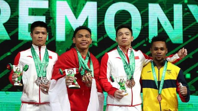 Eko Yuli Raih Emas di Kejuaraan Dunia Angkat Besi