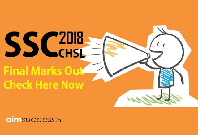 SSC CHSL 2016 Final Marks Out