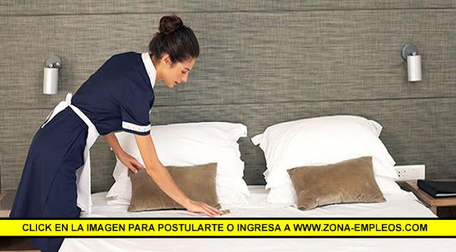 SE BUSCA MUCAMA PARA IMPORTANTE HOTEL