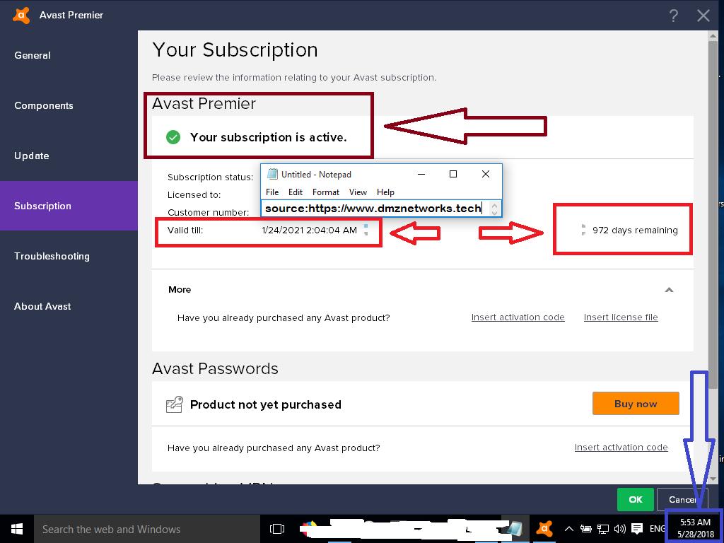Avast Antitrack Premium Key - slidesharefile