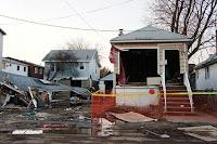Storm surge damage from Sandy on Staten Island. (Credit: Somayya Ali Ibrahim) Click to Enlarge.