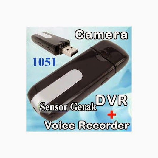 Spy Cam Model Flashdisk Sensor Gerak