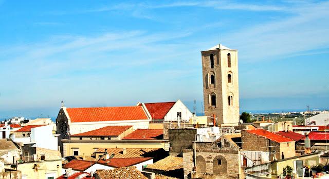 case, paese, tetti, cielo,borgo antico