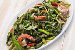 Resep Masakan Indonesia Tumis Kangkung