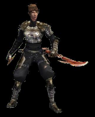 Bıçakçı ninja vslik efsunlar
