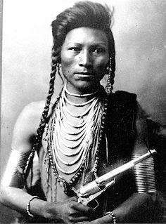 Índio Shoshone - 1890