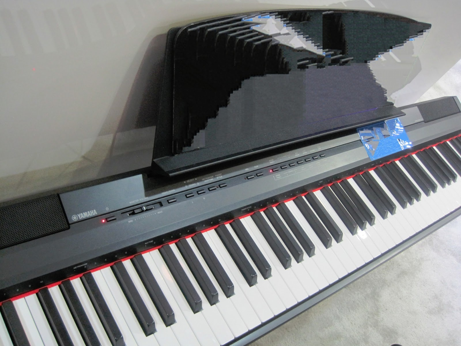 azpianonews review yamaha ydp142 ydp162 ydps51 digital pianos recommended very nice. Black Bedroom Furniture Sets. Home Design Ideas