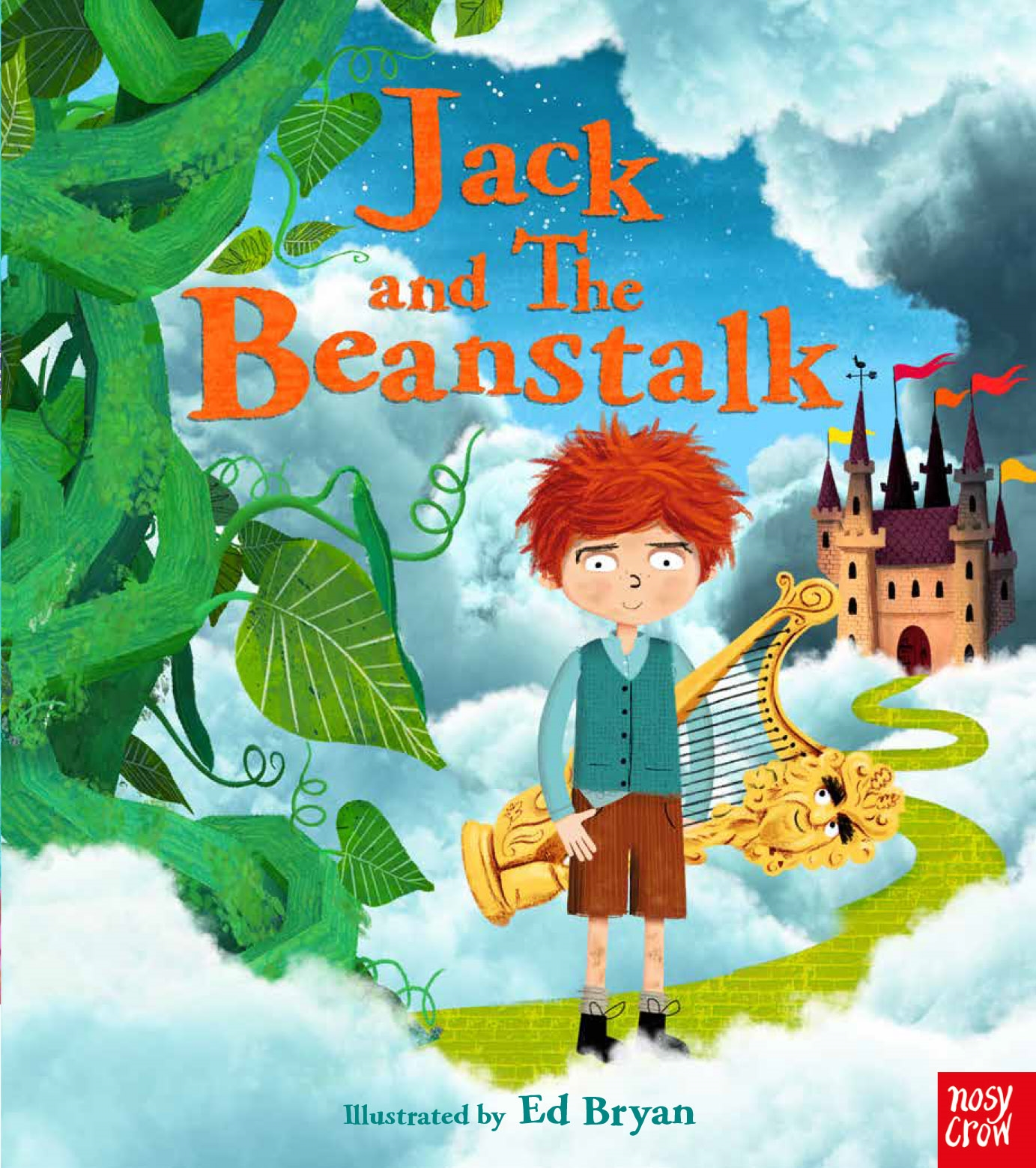Jack And The Beanstalk And Little Red Riding Hood By Ed Bryan