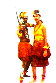 Pakaian Adat Ewer dari Papua Barat