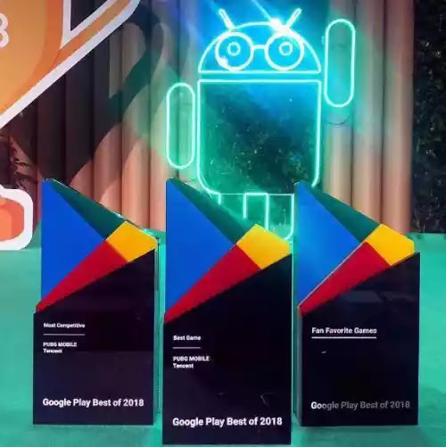PUBG Mobile wins 3 Honours at Google play awards 2018
