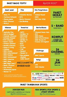 top tv indovision Rantau Prapat