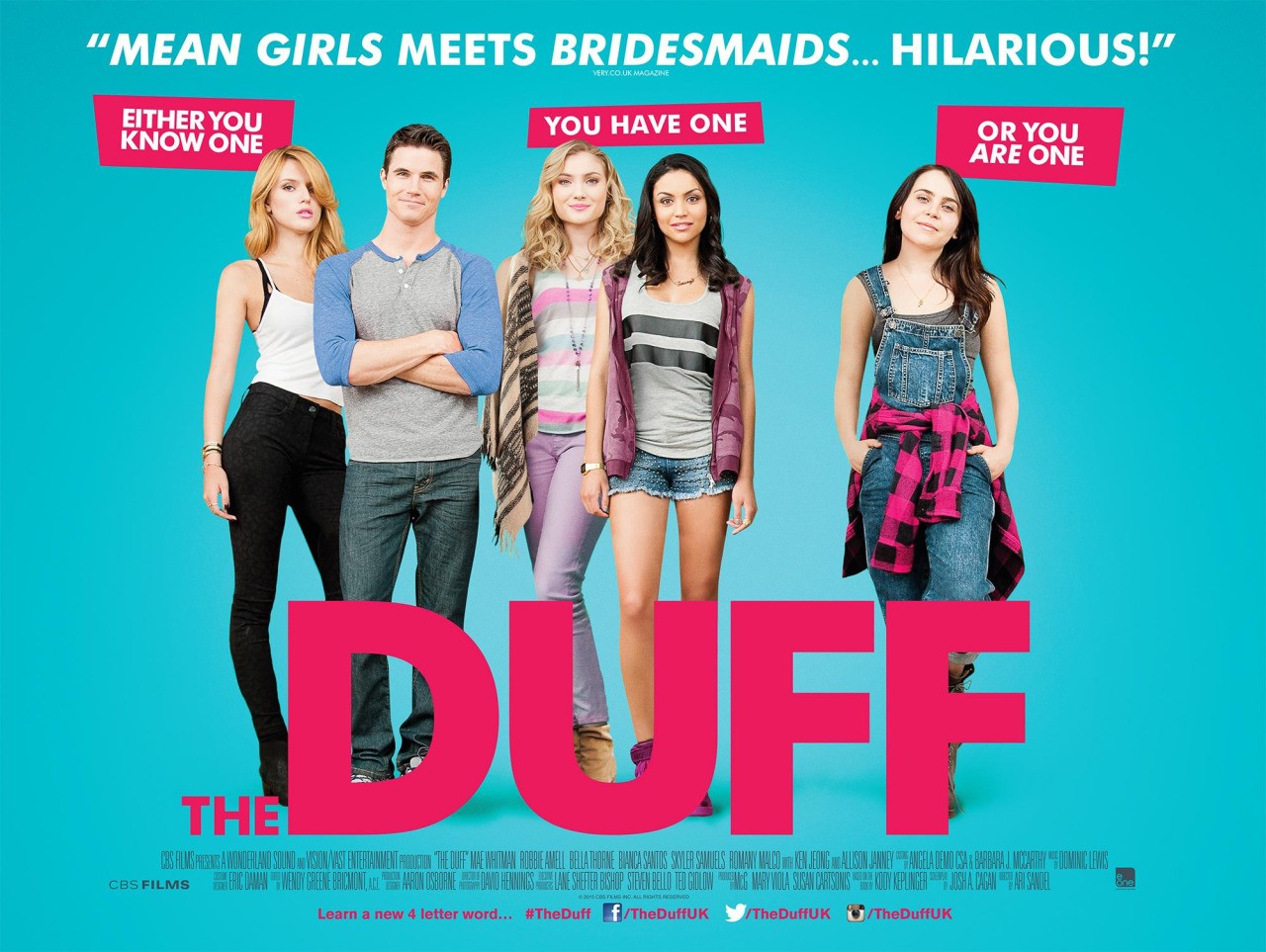 The Duff [2015] [West] [USA] [Bluray 720p] [ShAaNiG] [750MB
