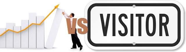 Manakah Yang Lebih Bagus Jumblah Klik Pageviews Tinggi Atau Visitor Banyak