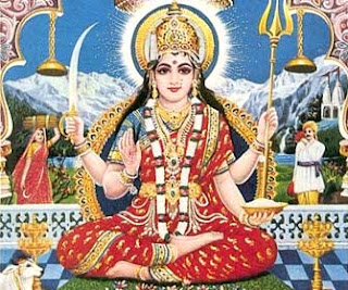 Picture of Goddess Parvati - Consort of Lord Shiva