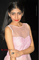 Actress Nidhisha Reddy Pos in Beautiful Pink Dress at Virus Telugu Movie Audio Launch .COM 0028.JPG