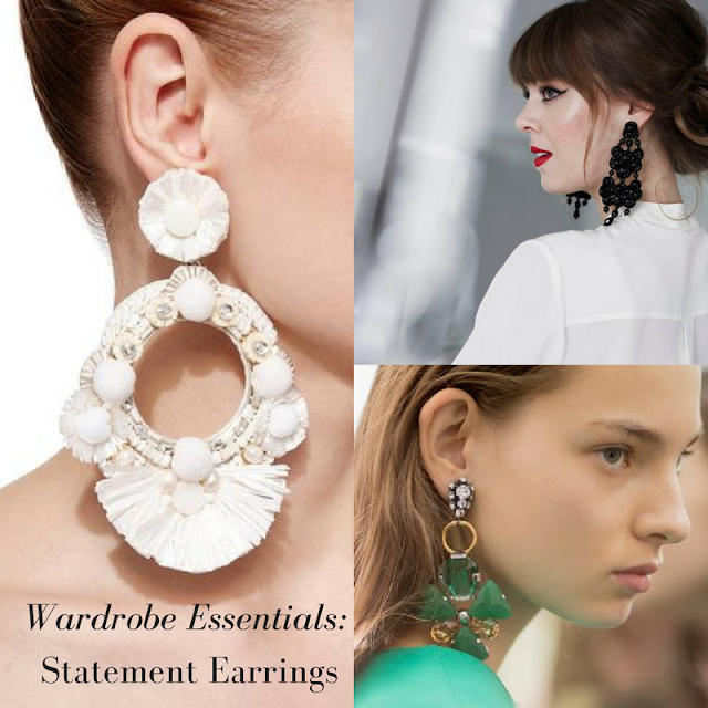 Wardrobe Essentials: Statement Earrings (Under $50!)