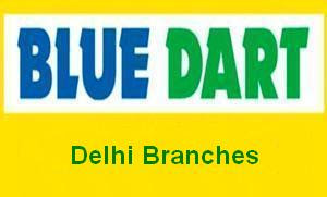 Delhi Blue Dart Branches