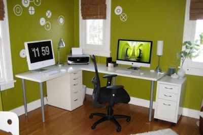 Menciptakan Interior Kantor Dirumah Yang Minimalis