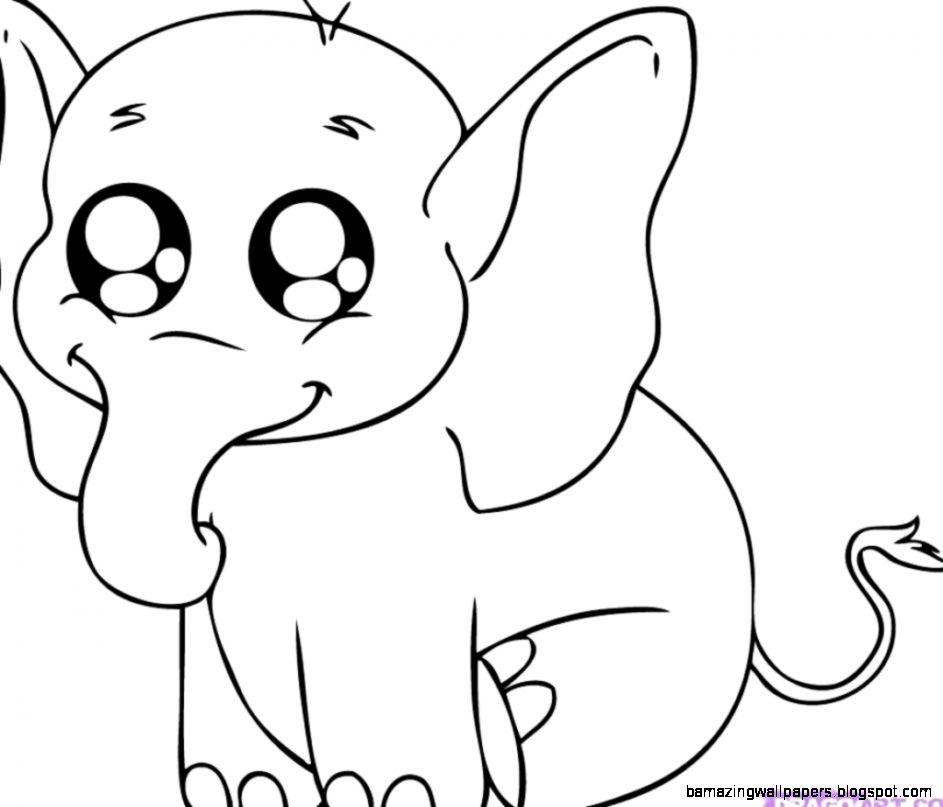 Easy Cute Baby Animal Drawings | Amazing Wallpapers