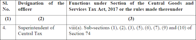 Circular No. 3/3/2017-GST dated 5th July, 2017