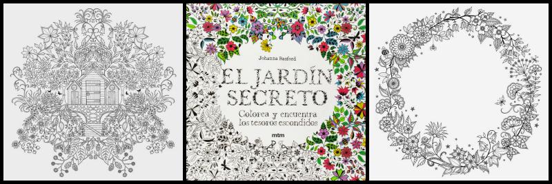 De jardines secretos y bosques libros para colorear for El jardin de los secretos
