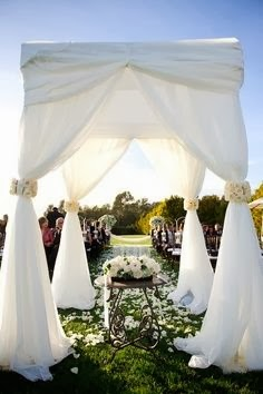 Wedding Gazebos Stress Form and Function