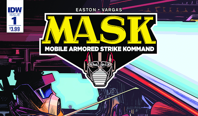 M.A.S.K. #1 Now Available In Local Comic Shops and Digital Download