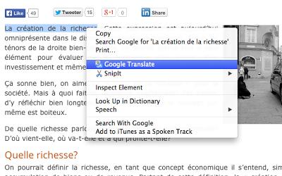 add google translate to chrome