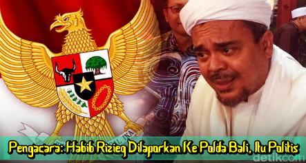Pengacara: Habib Rizieq Dilaporkan ke Polda Bali, Itu Politis
