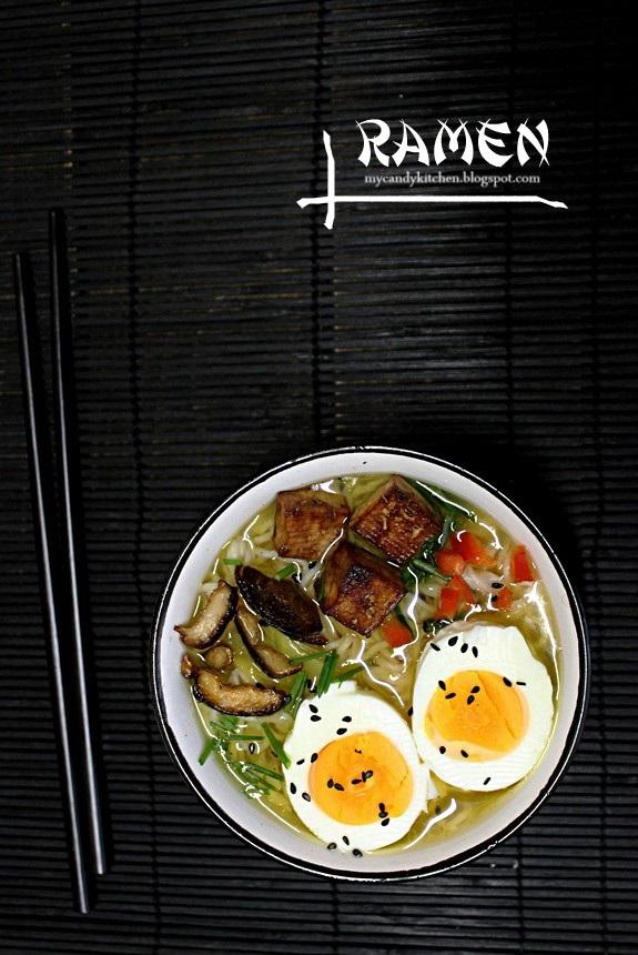 японска супа с нудъли, Рамен