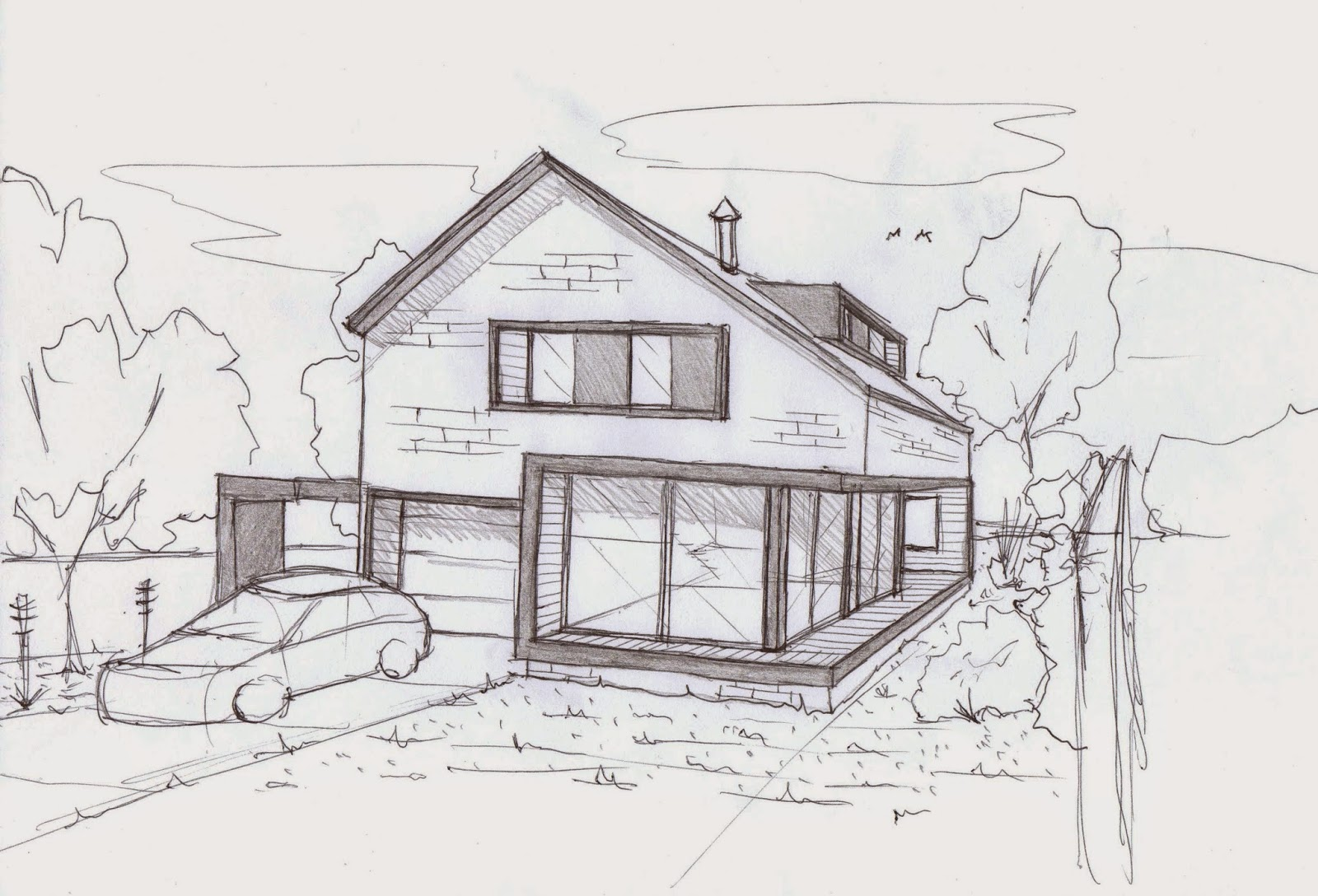 Thinking Architecture Through The Sketch