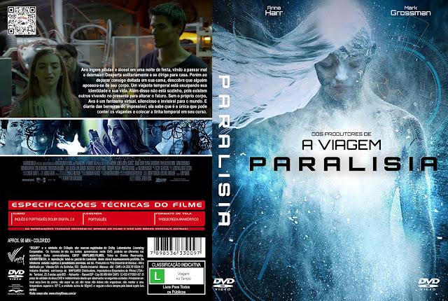 Capa DVD Paralisia [Exclusiva]