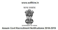 Government Jobs In Assam State