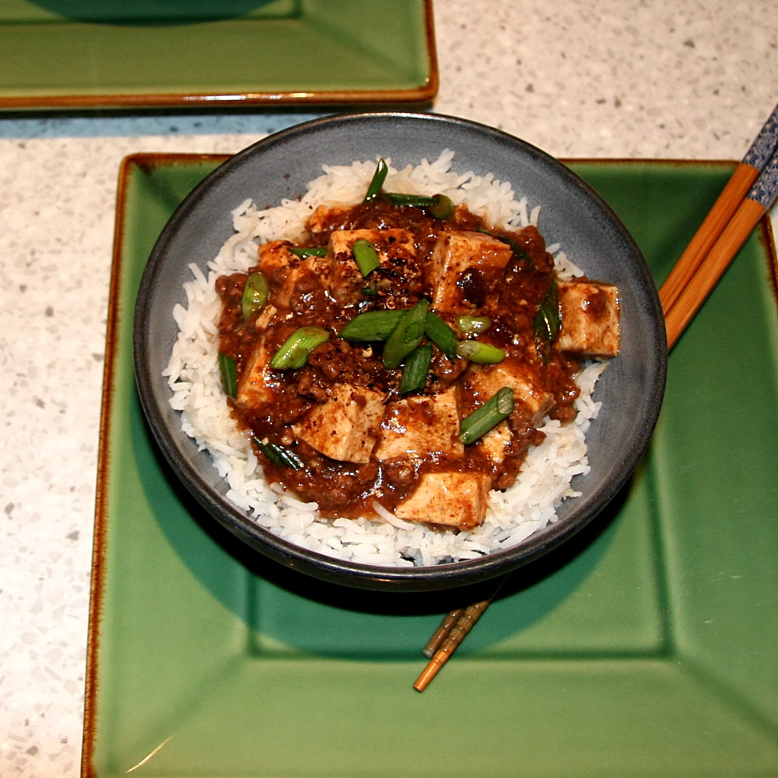 Szechuan Kitchen: 37 Cooks: Spicy Tofu With Beef And Szechuan Peppercorns