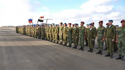 حماة الصداقة -3, مصر وروسيا, المظلات, التدريب المشترك,